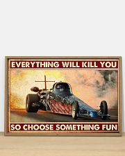 Drag Racing Choose ST Fun 10 PDN-nna 36x24 Poster poster-landscape-36x24-lifestyle-03