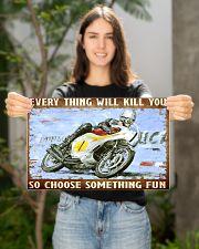 choose fun hond  17x11 Poster poster-landscape-17x11-lifestyle-19