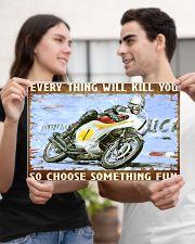choose fun hond  17x11 Poster poster-landscape-17x11-lifestyle-20