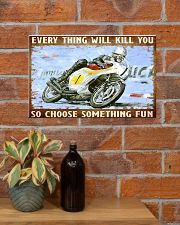 choose fun hond  17x11 Poster poster-landscape-17x11-lifestyle-23
