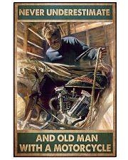 Old man bike 11x17 Poster front
