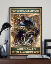 Old man bike 11x17 Poster lifestyle-poster-2