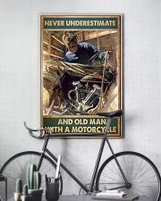 Old man bike 11x17 Poster lifestyle-poster-7