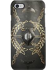 Roman gladiator shield pc dvhh pml Phone Case i-phone-8-case