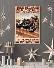 dicat I ride because everything pt lqt ntv  11x17 Poster lifestyle-holiday-poster-1