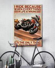 dicat I ride because everything pt lqt ntv  11x17 Poster lifestyle-poster-7
