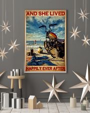 She lived motorcycle dvhd 11x17 Poster lifestyle-holiday-poster-1