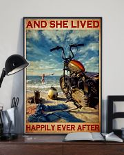 She lived motorcycle dvhd 11x17 Poster lifestyle-poster-2