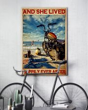 She lived motorcycle dvhd 11x17 Poster lifestyle-poster-7