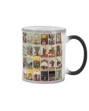 tarot case dvhd ntv Color Changing Mug tile