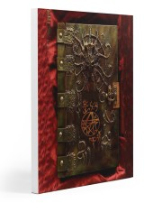 Necronomicon case dvhd-ntv Gallery Wrapped Canvas Prints tile
