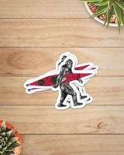 Bigfoot kayak dvhd-ntv Sticker - 6 pack (Vertical) aos-sticker-6-pack-vertical-lifestyle-front-07