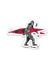 Bigfoot kayak dvhd-ntv Sticker - 6 pack (Vertical) front