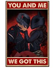 You me motorcycle 11x17 Poster front