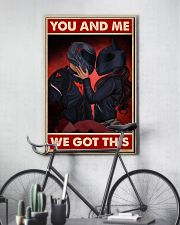 You me motorcycle 11x17 Poster lifestyle-poster-7
