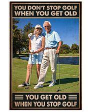 golf dont get old pt lqt NTH 11x17 Poster front