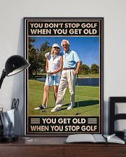 golf dont get old pt lqt NTH 11x17 Poster lifestyle-poster-2
