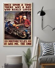 Once upon bike 11x17 Poster lifestyle-poster-1