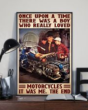Once upon bike 11x17 Poster lifestyle-poster-2