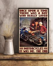 Once upon bike 11x17 Poster lifestyle-poster-3