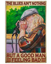 Blues harmonica good dvhd 11x17 Poster front