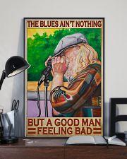 Blues harmonica good dvhd 11x17 Poster lifestyle-poster-2