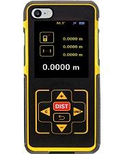 Laser Distance Measurer pc ttb 3-NTH Phone Case i-phone-8-case