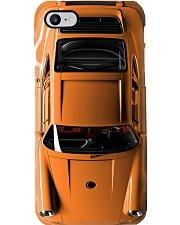 Por 911 turbo Orange dvhd-pml Phone Case i-phone-8-case