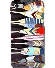 painted canoe paddle pc mttn pml Phone Case i-phone-8-case