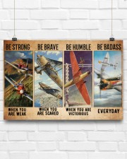 Air race strong brave dvhd-ntv 24x16 Poster aos-poster-landscape-24x16-lifestyle-18
