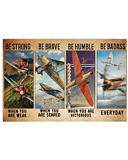 Air race strong brave dvhd-ntv 24x16 Poster front