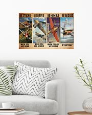 Air race strong brave dvhd-ntv 24x16 Poster poster-landscape-24x16-lifestyle-01