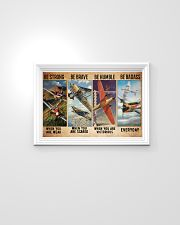 Air race strong brave dvhd-ntv 24x16 Poster poster-landscape-24x16-lifestyle-02