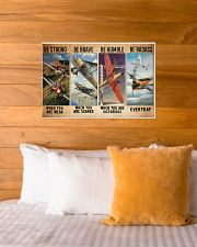 Air race strong brave dvhd-ntv 24x16 Poster poster-landscape-24x16-lifestyle-27