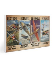 Air race strong brave dvhd-ntv 30x20 Gallery Wrapped Canvas Prints thumbnail