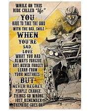 Ride go on ATV dvhd-cva 11x17 Poster front