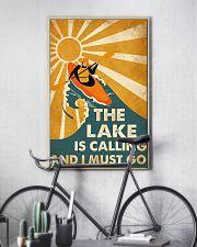 kayak lake call dvhd cva 11x17 Poster lifestyle-poster-7