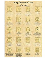King solomon seal dvhd-ntv 11x17 Poster front