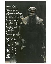 samurai nothing ouside pt btn-dqh 11x17 Poster front