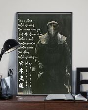 samurai nothing ouside pt btn-dqh 11x17 Poster lifestyle-poster-2
