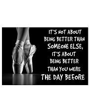 ballet better than pt mttn ntv 36x24 Poster front