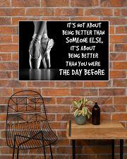 ballet better than pt mttn ntv 36x24 Poster poster-landscape-36x24-lifestyle-20