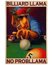 Billiard llama dvhd-cva 11x17 Poster front