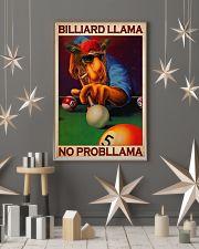 Billiard llama dvhd-cva 11x17 Poster lifestyle-holiday-poster-1