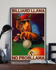 Billiard llama dvhd-cva 11x17 Poster lifestyle-poster-2