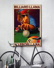 Billiard llama dvhd-cva 11x17 Poster lifestyle-poster-7