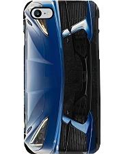 Chevrole corvet c7 stingray blue pc dvhh-dqh Phone Case i-phone-8-case