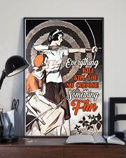 Archery choose fun 11x17 Poster lifestyle-poster-2
