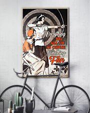 Archery choose fun 11x17 Poster lifestyle-poster-7