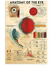 eye anatomy  II  11x17 Poster front